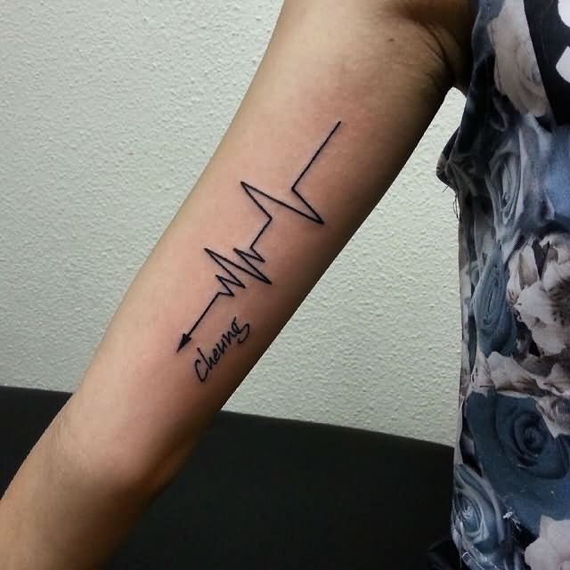 most-amazing-arrow-heartbeat-tattoo-design-for-men-biceps-or-inner-arm