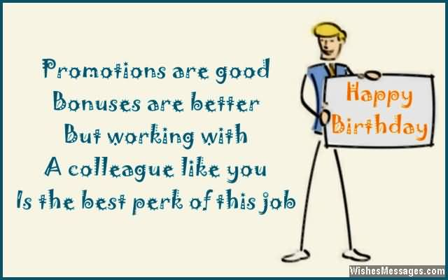 A Colleague Like You Is The Best Happy Birthday
