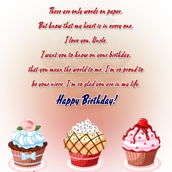 All Your Dreams Can Be Fulfilled Happy Birthday Uncle