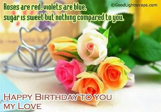 Amazing Boyfriend Happy Birthday Wishes Image