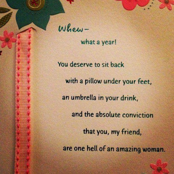 Amazing Woman Birthday Wishes Card