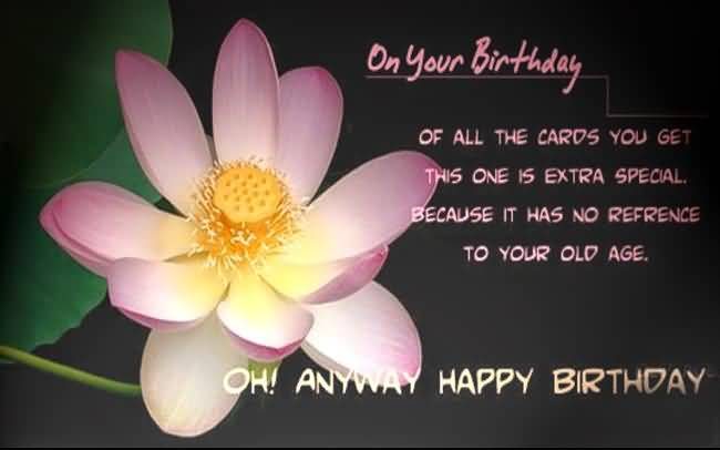 Awesome Birthday Greeting For Someone Special