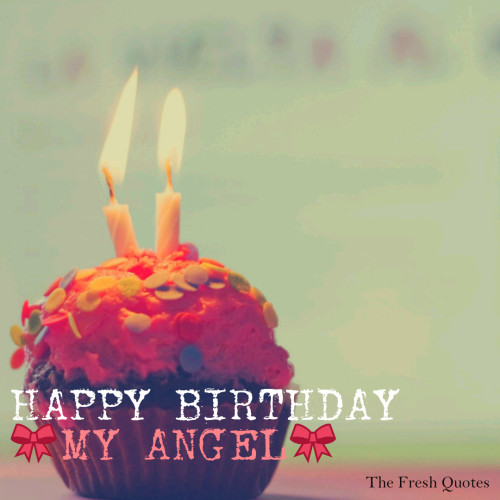 Awesome Happy Birthday My Angel Picture