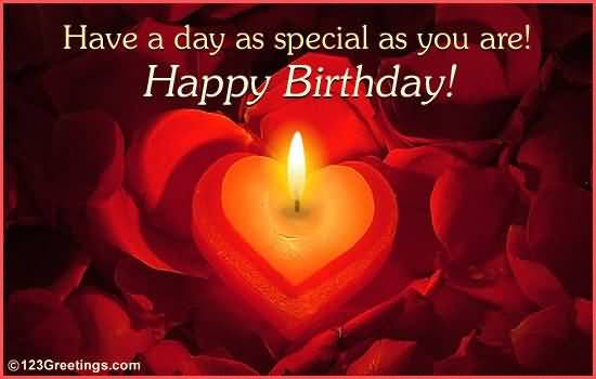 Awesome Happy Birthday Wishes For Someone Special Image