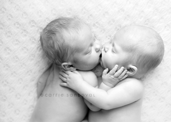 Babies Kissing Picture