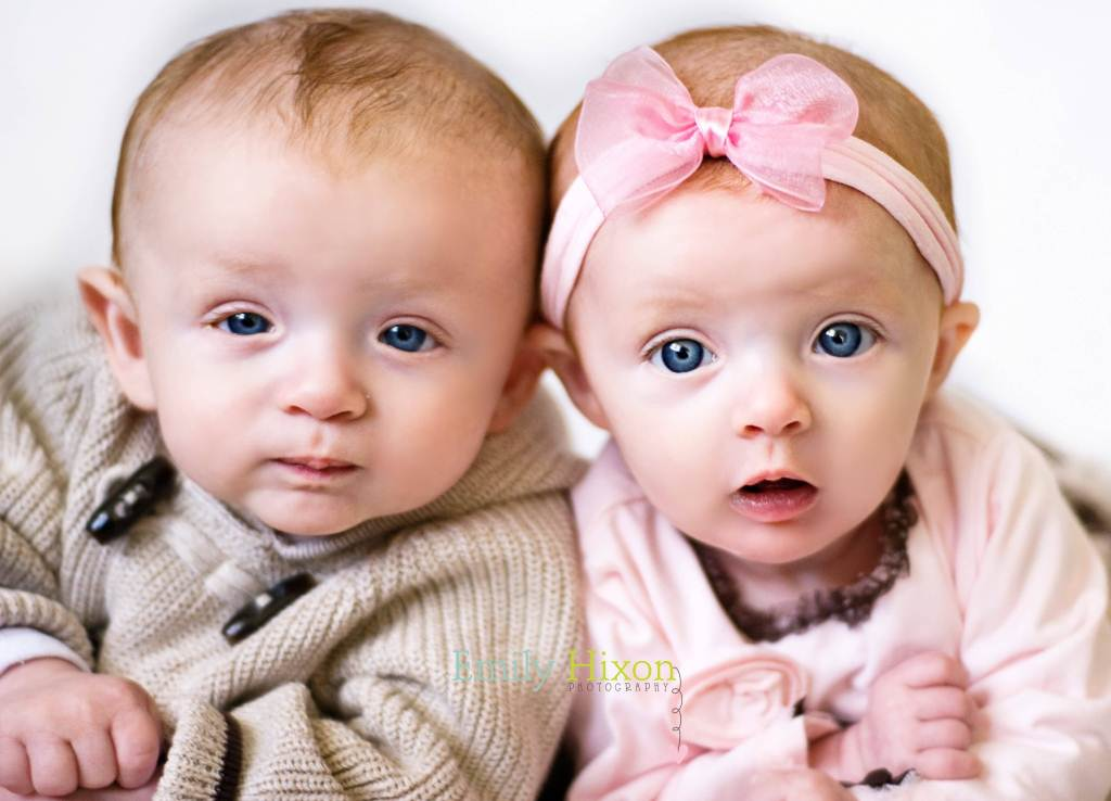 Baby Boy With Baby Girl Cute Face Picture