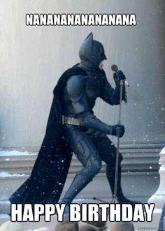 Batman Funny Happy Birthday Song Image