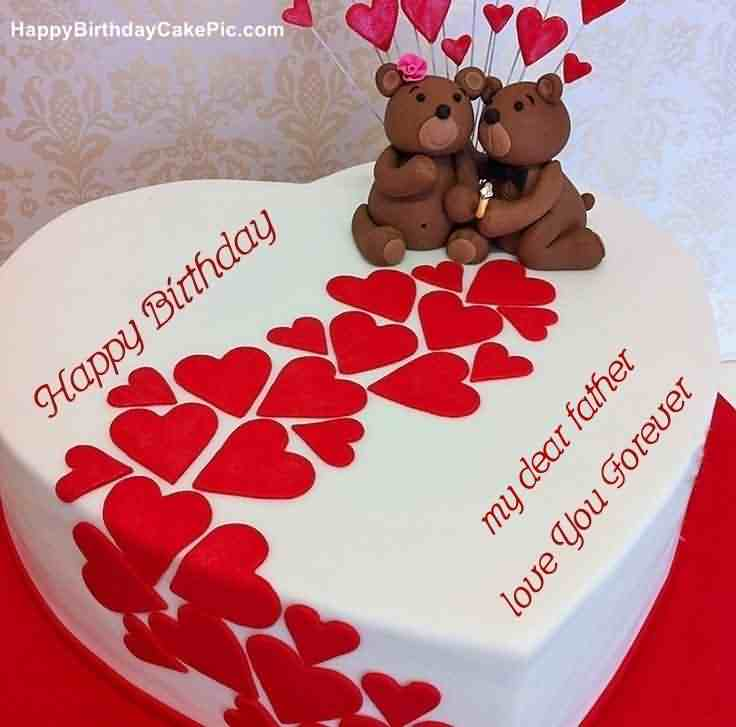 Beautiful Birthday Cake Wishes For Dad