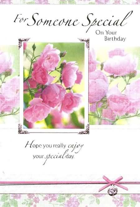 Beautiful Birthday E-Card For Someone Special