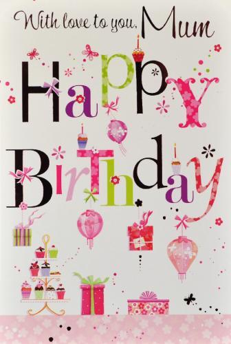 Beautiful Birthday Greetin E Card For Great Mom