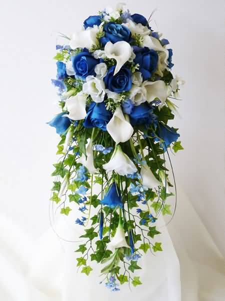 Beautiful Bluebell Flower Bouquet For Home Decoration