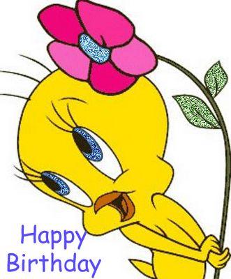 Beautiful Happy Birthday Wishes Tweety Image