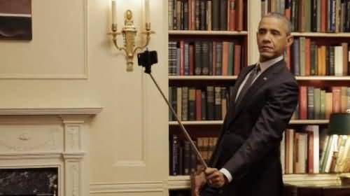 Beautiful Selfie Of President Obama Inside The White House