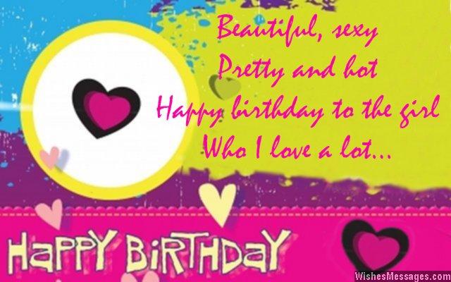 Beautiful Sexy Pretty And Hot Happy Birthday