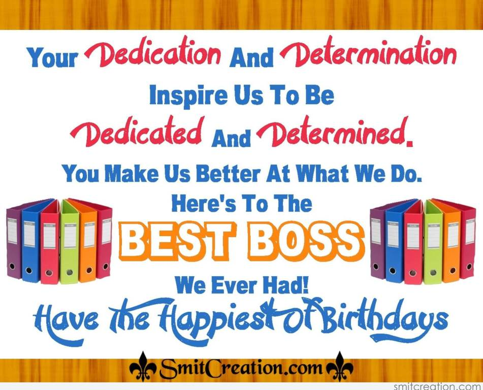 32 wonderful boss birthday wishes sayings picture photo picsmine best boss birthday greeting message image m4hsunfo Image collections