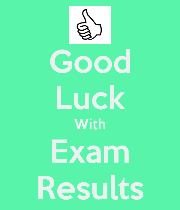 Best Good Luck With Exam Results Picture