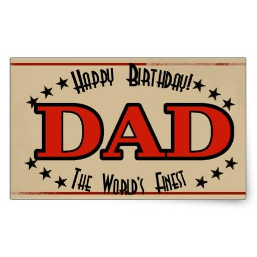 Best Greeting Happy Birthday Card To My Special Dad