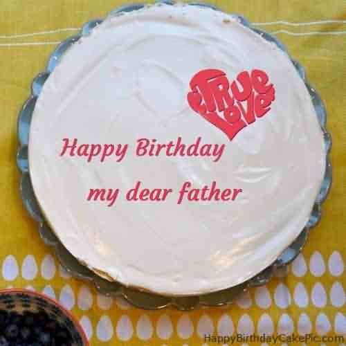 Best Happy Birthday Wishes Cake For Father