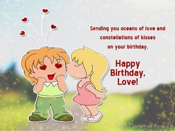 Best Happy Birthday Wishes For Lover