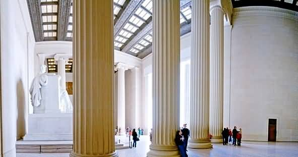 Best Wallpaper Of Inside View Of The Lincoln Memorial Photo