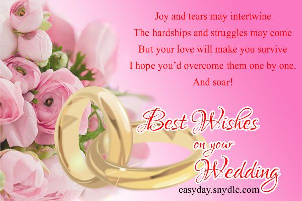 Best Wishes On Your Wedding Image