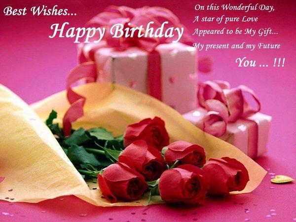 Best Wishes Wonderful Birthday Great Fun Happy Birthday Love