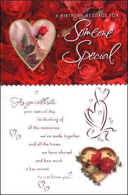 Birthday card to someone special picsmine birthday card to someone special m4hsunfo