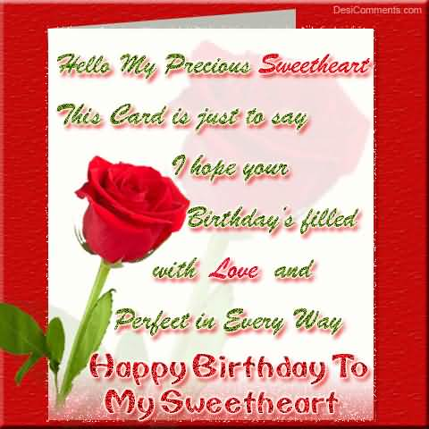 Birthday Filled With Love And Perfect In Every Way Happy Birthday
