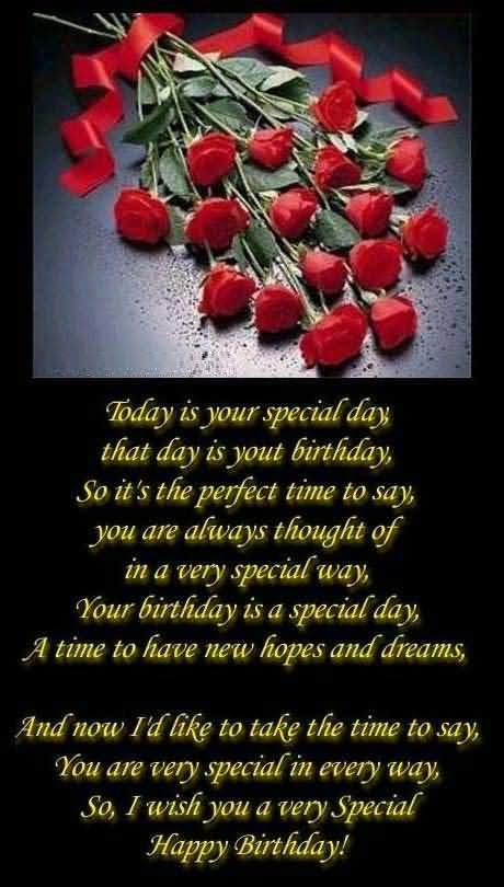 Birthday Poem For Someone Special