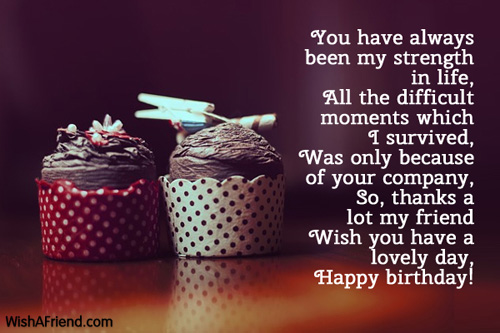Birthday Quotes Wishes Image For Best Friend