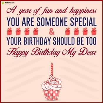 Birthday Wishes Message To Someone Special