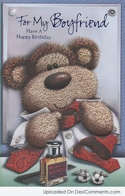 Boyfriend Happy Birthday Greeting E Card
