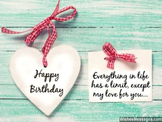 Boyfriend Happy Birthday Wishes Image