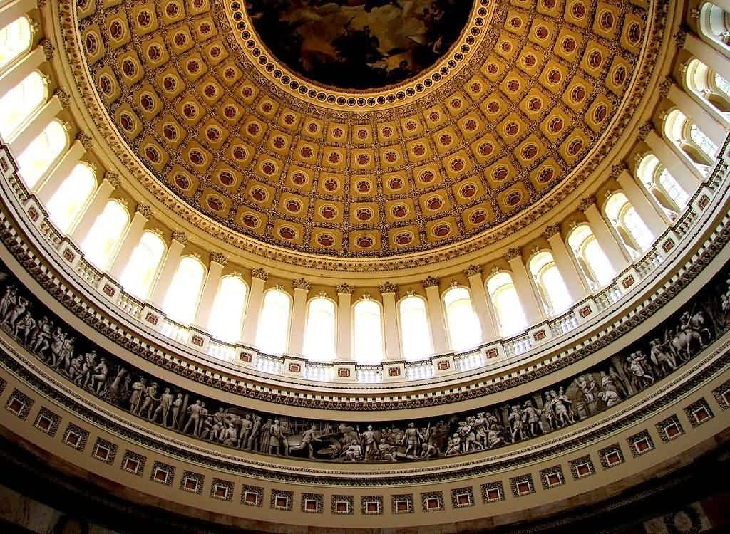 Brilliant Architecture Inside United States Capitol For Wallpaper Of Desktop
