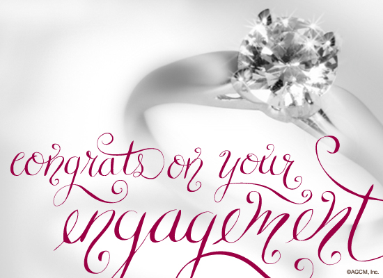 Congrats On Your Engagement Wishes Image