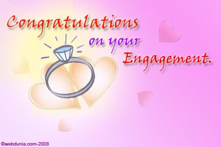 Congratulations On Your Engagement E Card