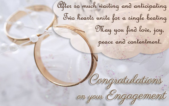 Congratulations On Your Engagement Quotes