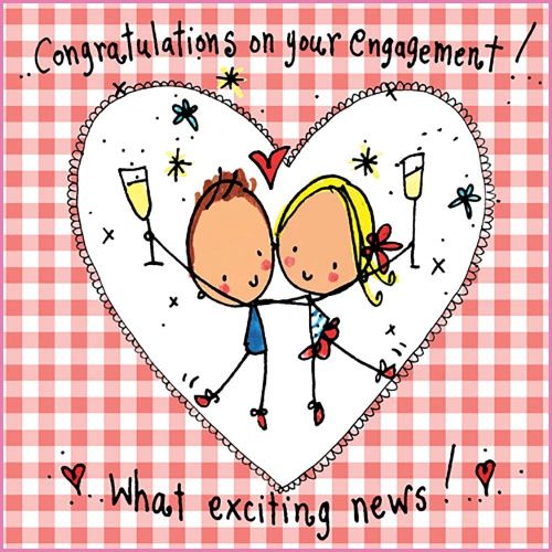 Congratulations On Your Engagement What Exciting News Beautiful Greeting Picture