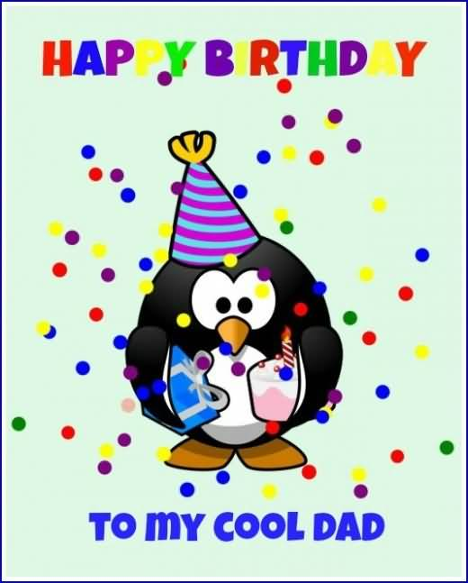 Cool Dad Happy Birthday Wishes