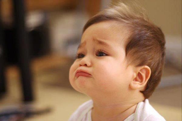 Cute Baby Sad Reaction Picture