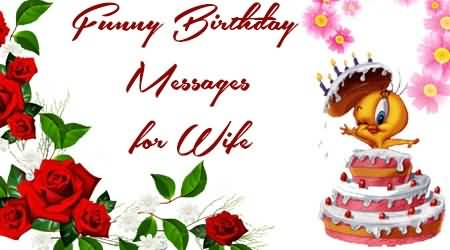Cute Birthday Wishes For Wife