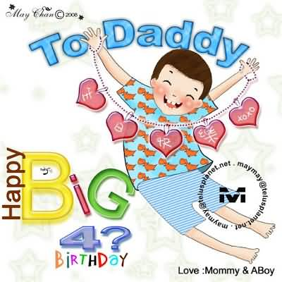 Dad Birthday Wishes From Son Image