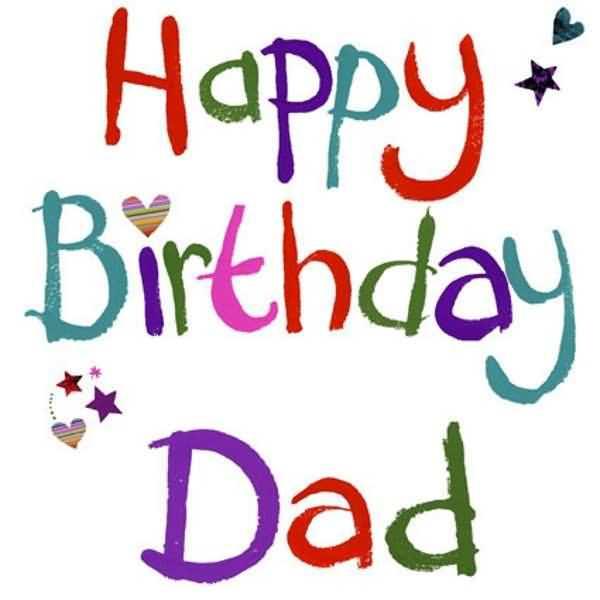 Dad Happy Birthday Dad Card Image