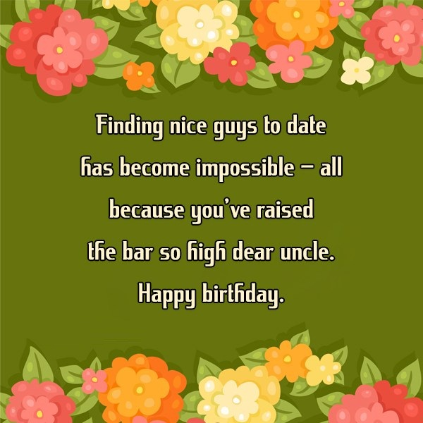 Dear Uncle Happy Birthday Wishes & Quotes