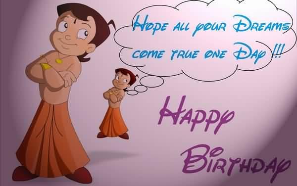 Dreams Come True One Day Happy Birthday Colleague