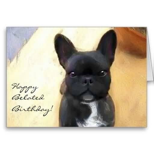 Fabulous Belated Birthday Greeting Card