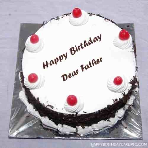 Fabulous Dad Birthday Greetings Cake Wishes For Father