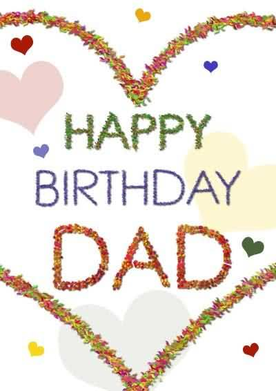 Fabulous Happy Birthday Wishes Greeting Card For Dad