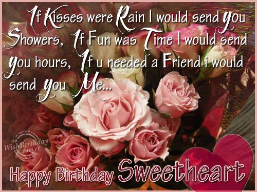 Fabulous Love Birthday Greetings Picture