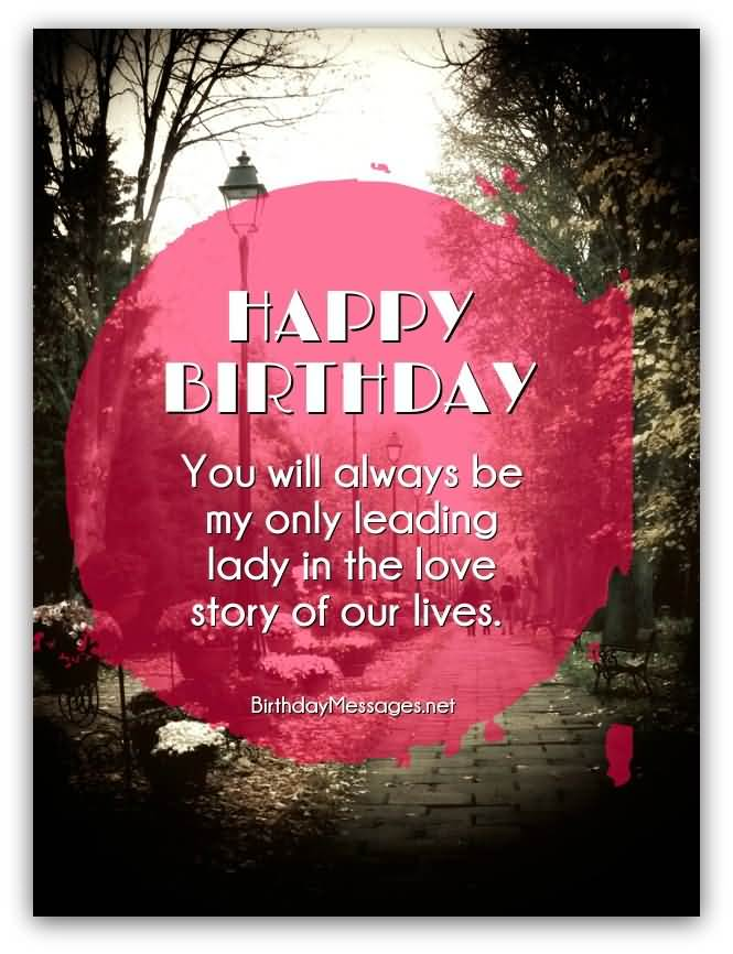 Fabulous Love Quotes Birthday Greeting For My Love